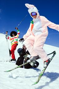 Skiurlaub Karneval