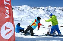 Schneegarantie in Val Thorens